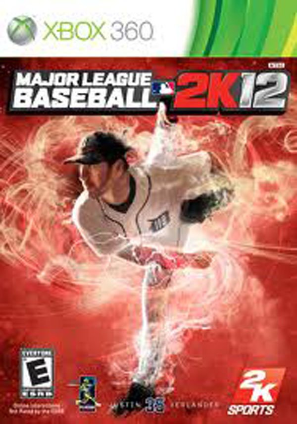 Major League Baseball 2K12 Video Game Back Title by WonderClub