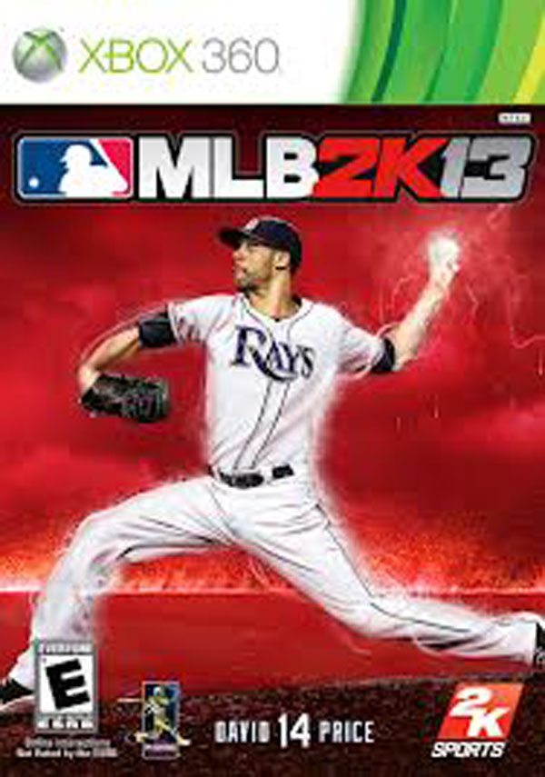 Major League Baseball 2K13 Video Game Back Title by WonderClub