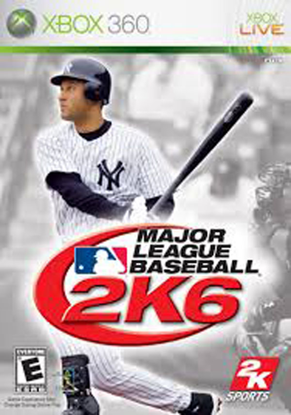 Major League Baseball 2K6 Video Game Back Title by WonderClub