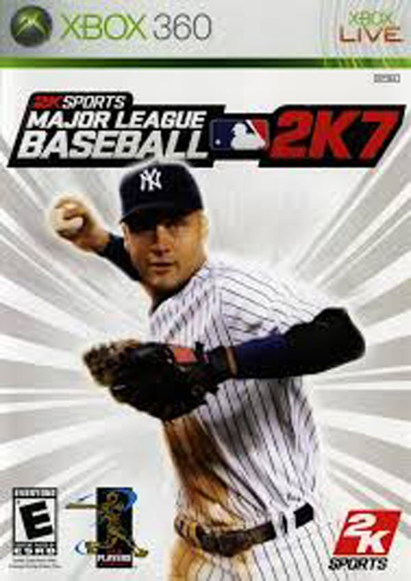 Major League Baseball 2K7 Video Game Back Title by WonderClub