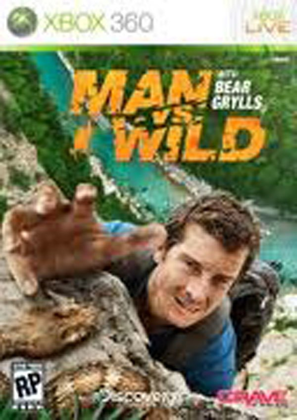 Man Vs. Wild Video Game Back Title by WonderClub