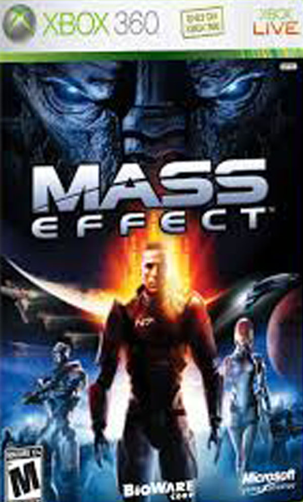 Mass Effect  Video Game Back Title by WonderClub
