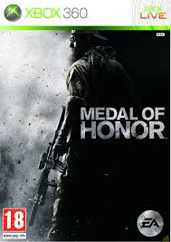 Medal Of Honor  Video Game Back Title by WonderClub