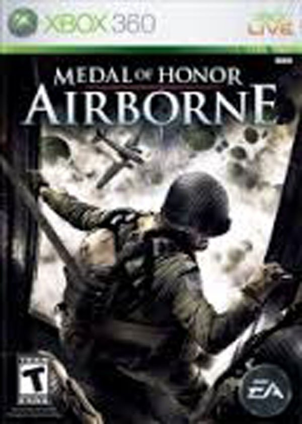 Medal Of Honor: Airborne Video Game Back Title by WonderClub