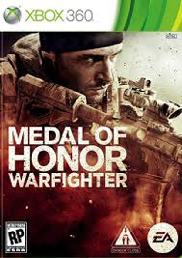 Medal Of Honor: Warfighter Video Game Back Title by WonderClub