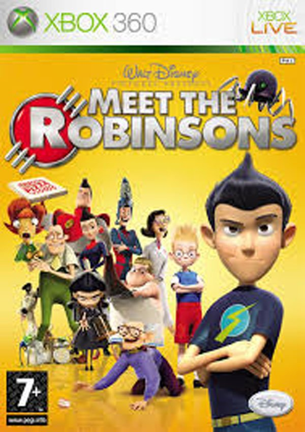 Meet The Robinsons  Video Game Back Title by WonderClub