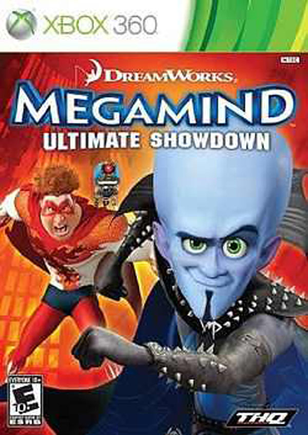 Megamind  Video Game Back Title by WonderClub