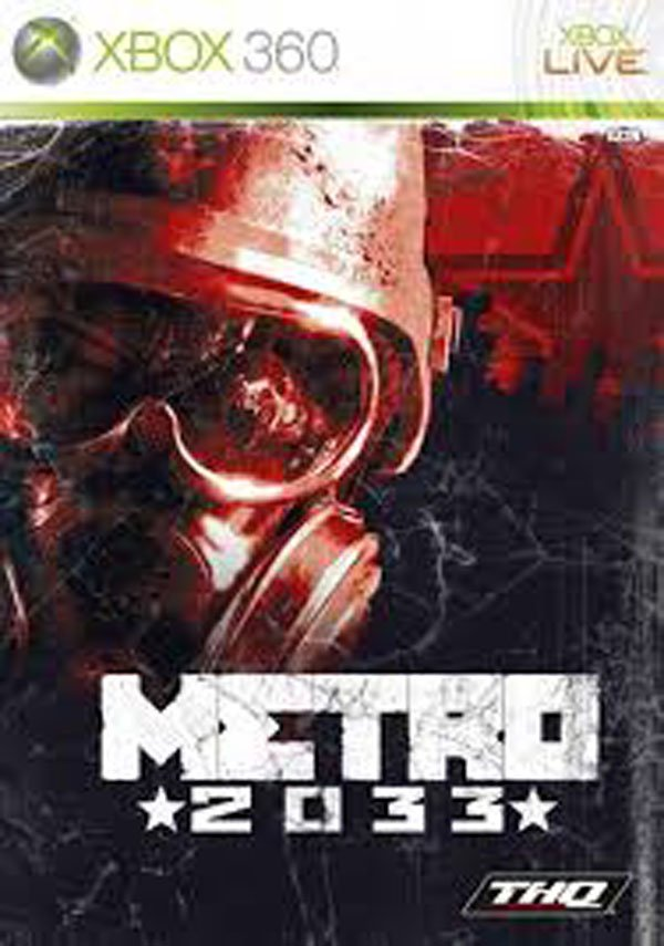 Metro 2033  Video Game Back Title by WonderClub