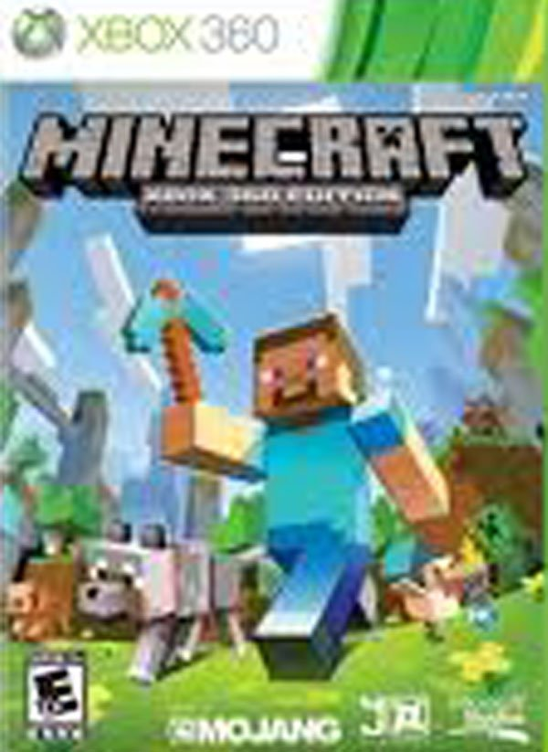 Minecraft Video Game Back Title by WonderClub