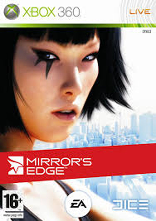 Mirror's Edge Video Game Back Title by WonderClub
