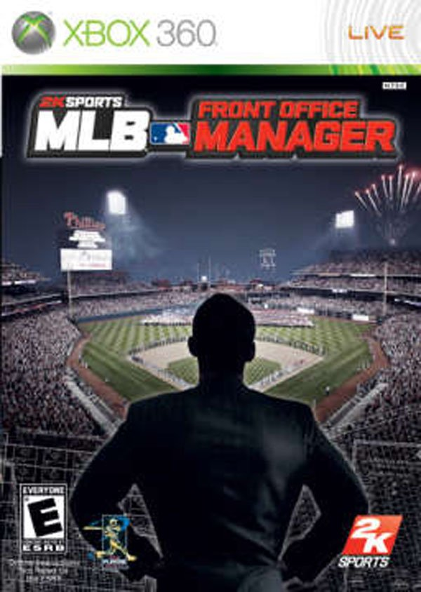 MLB Front Office Manager Video Game Back Title by WonderClub