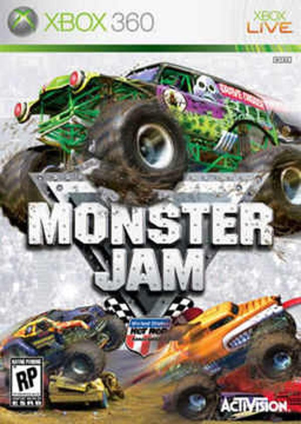 Monster Jam Video Game Back Title by WonderClub
