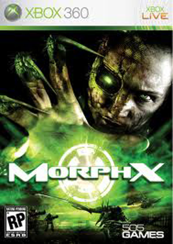 MorphX  Video Game Back Title by WonderClub
