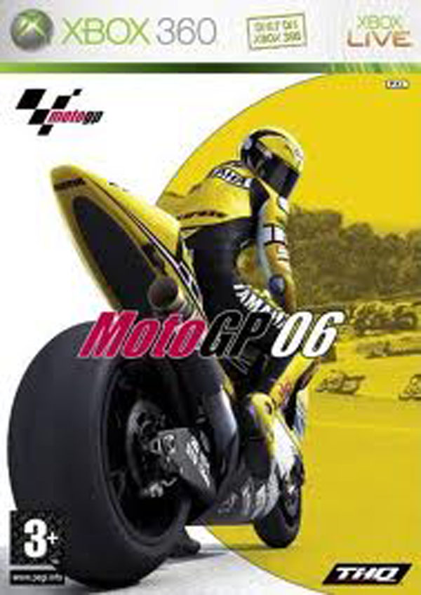 MotoGP '06 Video Game Back Title by WonderClub