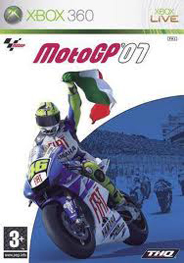 MotoGP '07 Video Game Back Title by WonderClub