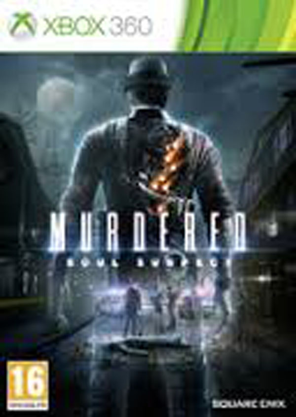 Murdered: Soul Suspect Video Game Back Title by WonderClub