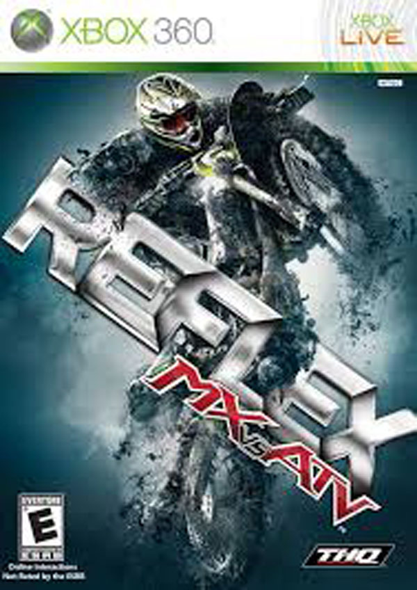 MX Vs. ATV Reflex Video Game Back Title by WonderClub