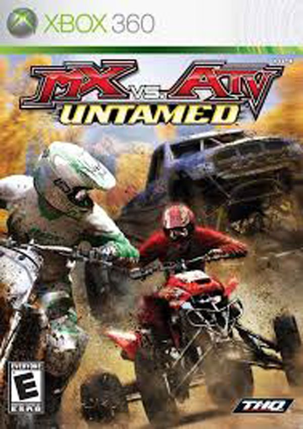 MX Vs. ATV: Untamed Video Game Back Title by WonderClub