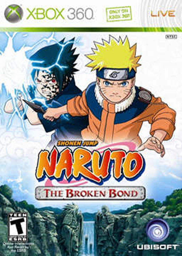 Naruto: The Broken Bond Video Game Back Title by WonderClub