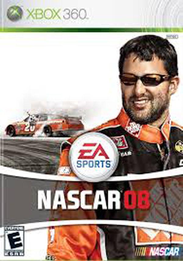 NASCAR 08 Video Game Back Title by WonderClub