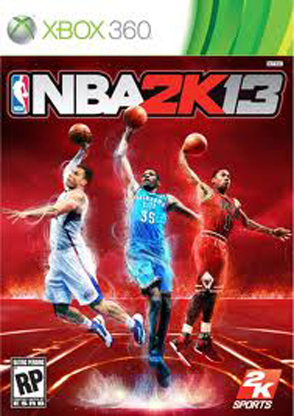 NBA 2K13 Video Game Back Title by WonderClub