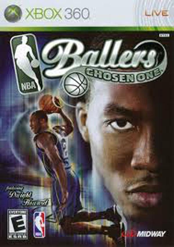 NBA Ballers: Chosen One Video Game Back Title by WonderClub