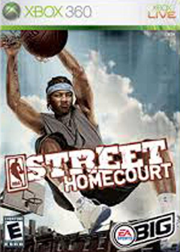 NBA Street Homecourt Video Game Back Title by WonderClub