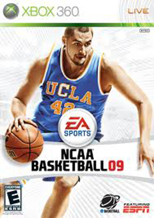 NCAA Basketball 09 Video Game Back Title by WonderClub