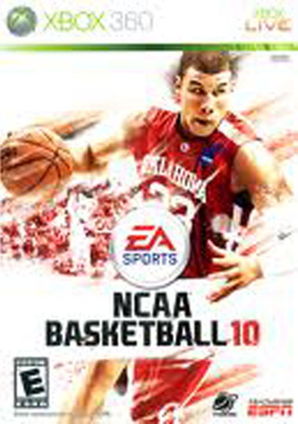 NCAA Basketball 10 Video Game Back Title by WonderClub