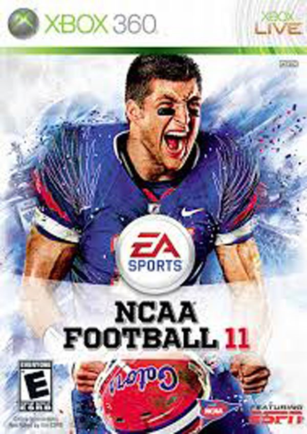 NCAA Football 11 Video Game Back Title by WonderClub