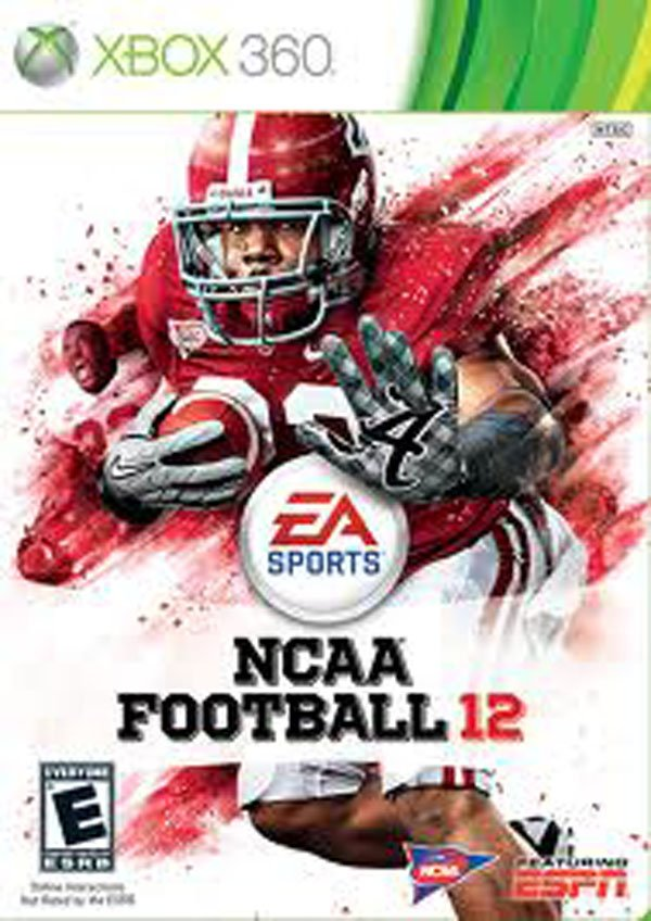 NCAA Football 12 Video Game Back Title by WonderClub