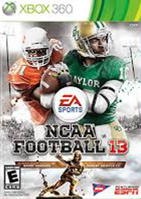 NCAA Football 13 Video Game Back Title by WonderClub