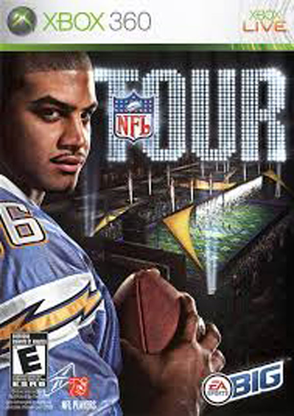 NFL Tour Video Game Back Title by WonderClub