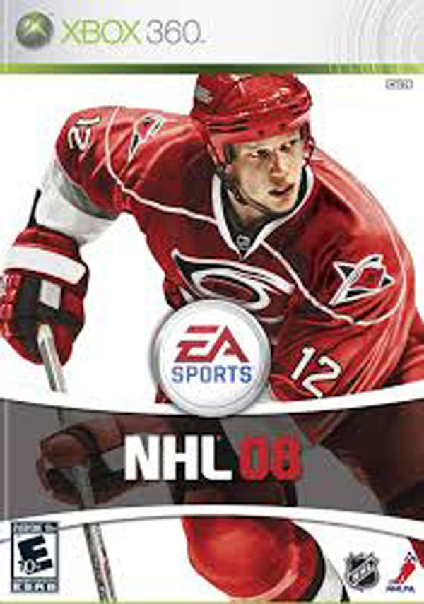 NHL 08 Video Game Back Title by WonderClub