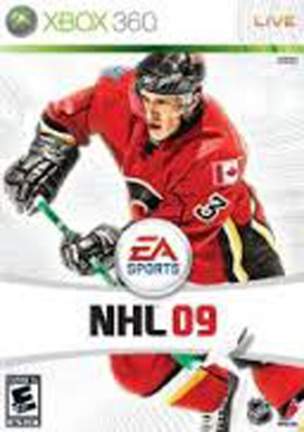 NHL 09 Video Game Back Title by WonderClub