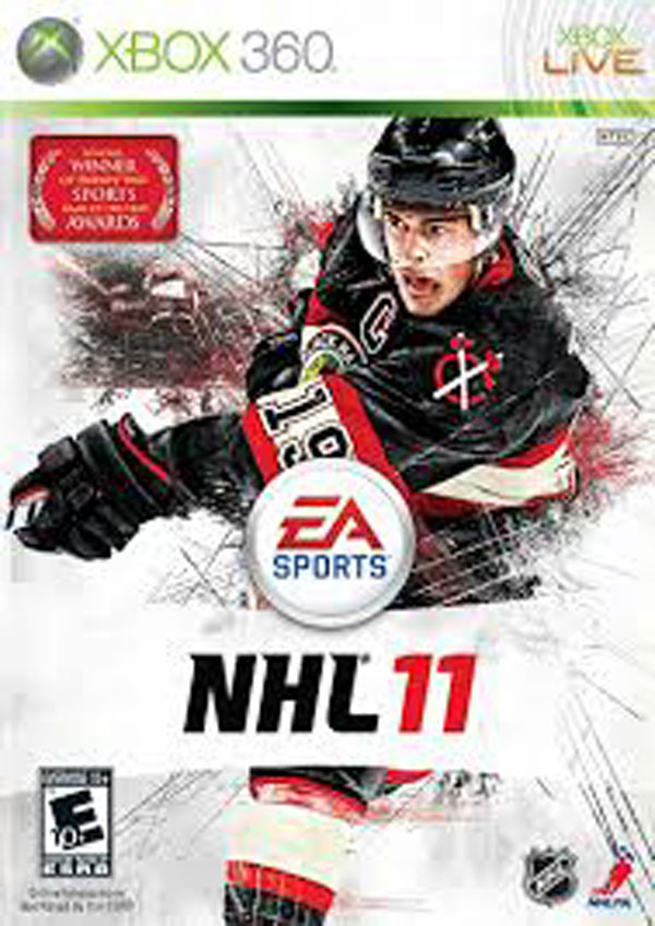 NHL 11 Video Game Back Title by WonderClub
