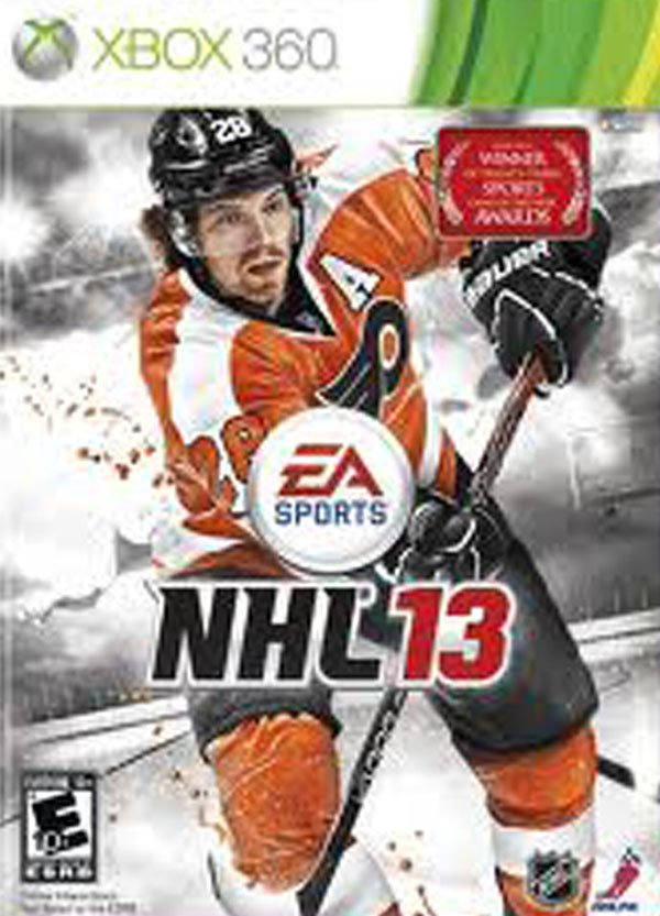 NHL 13 Video Game Back Title by WonderClub