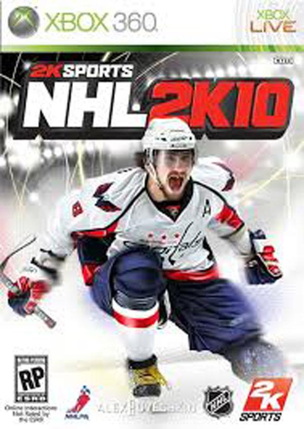 NHL 2K10 Video Game Back Title by WonderClub