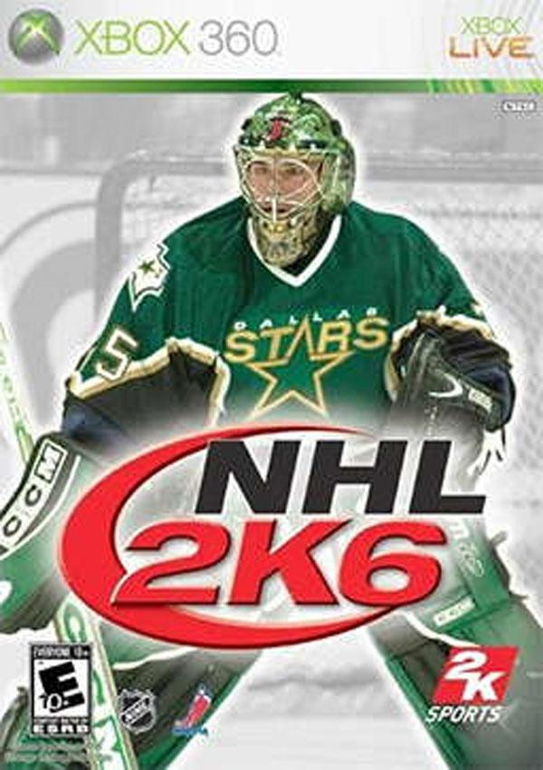 NHL 2K6 Video Game Back Title by WonderClub