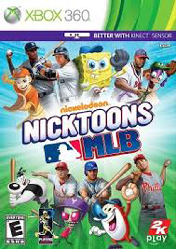 Nicktoons MLB Video Game Back Title by WonderClub