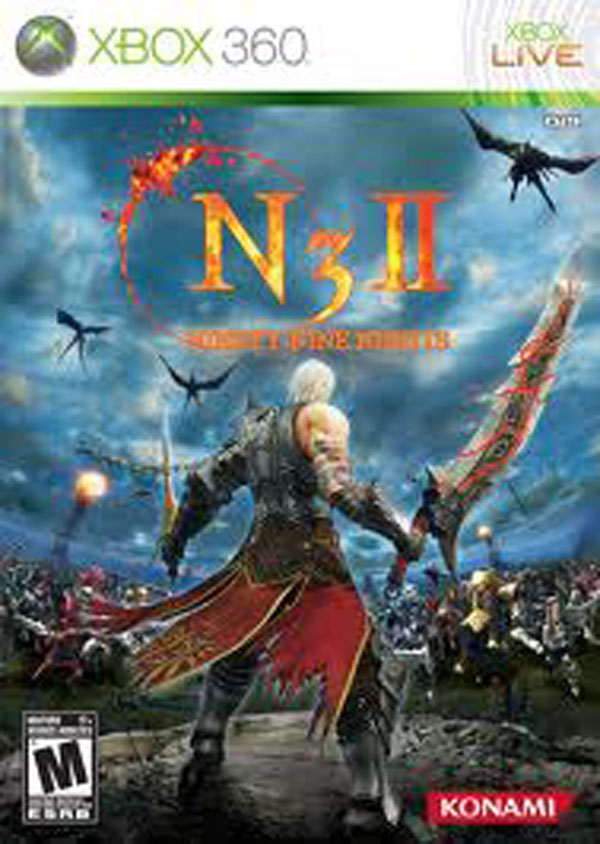 Ninety-Nine Nights II Video Game Back Title by WonderClub