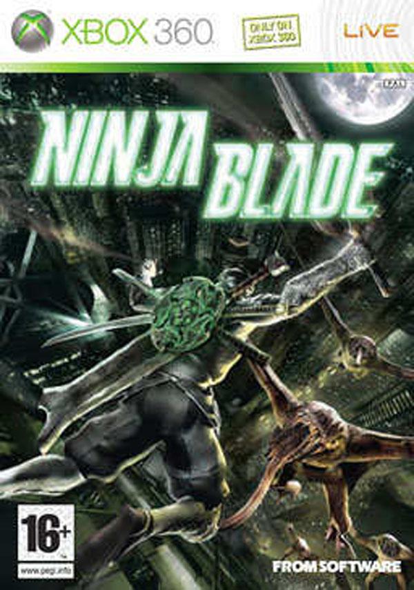 Ninja Blade Video Game Back Title by WonderClub