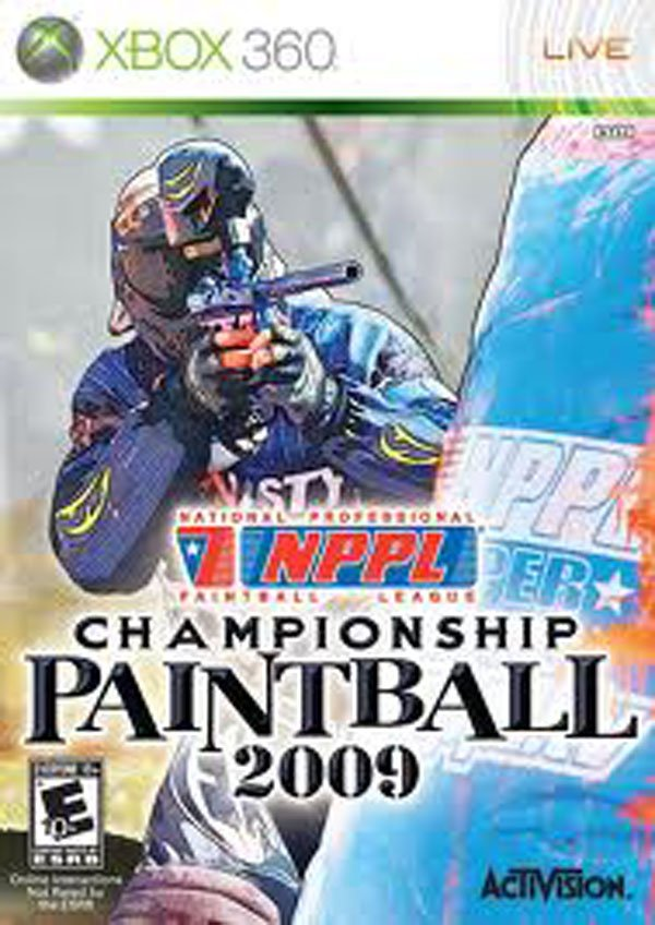 NPPL Championship Paintball 2009 Video Game Back Title by WonderClub