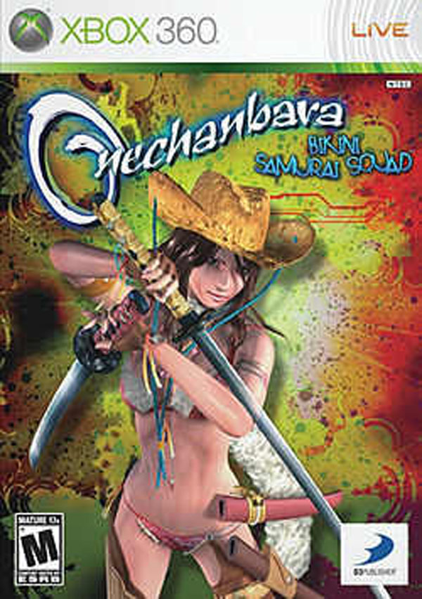 Onechanbara: Bikini Samurai Squad Video Game Back Title by WonderClub