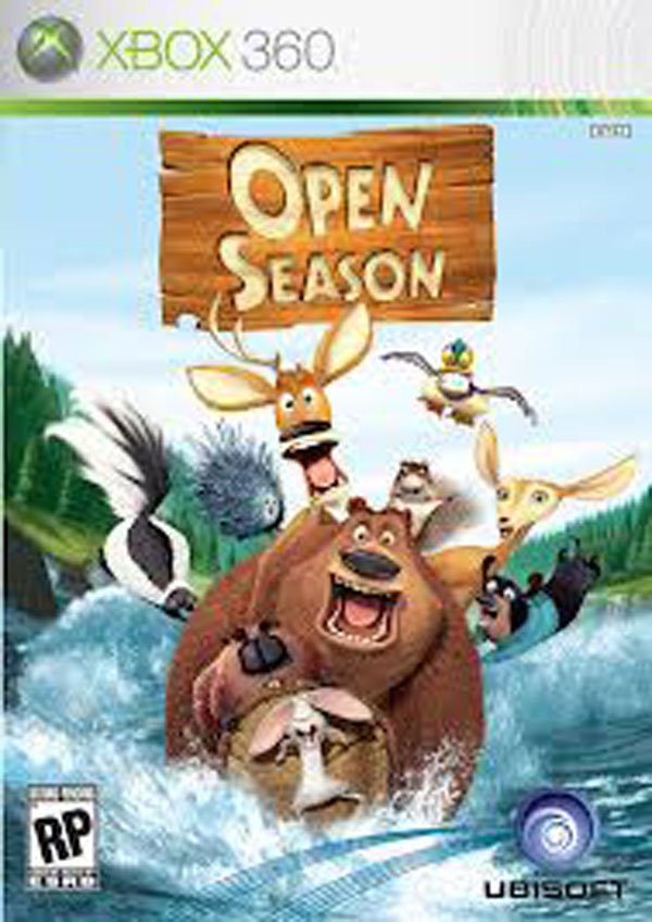 Open Season  Video Game Back Title by WonderClub