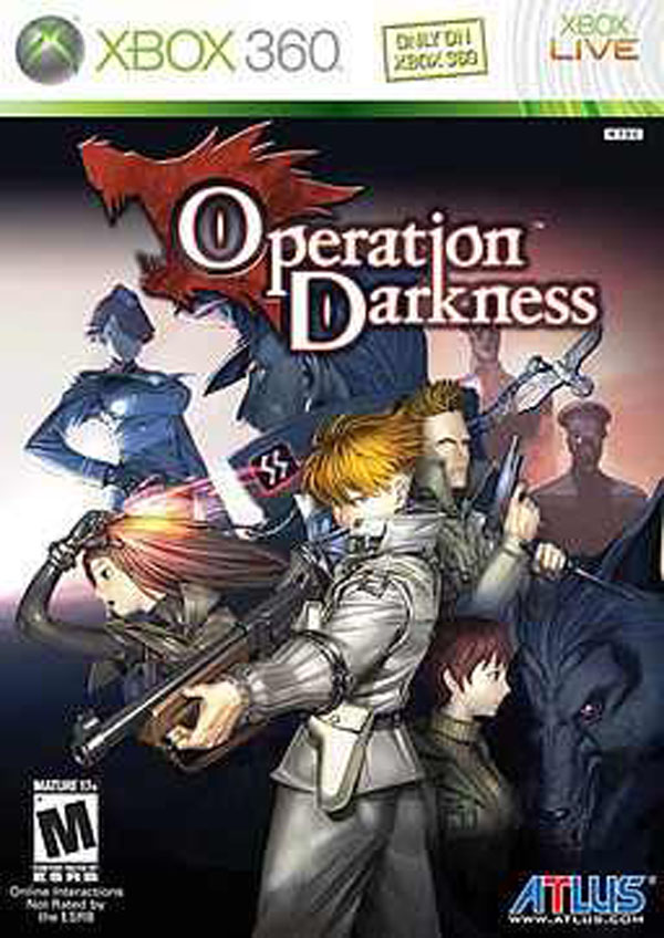Operation Darkness Video Game Back Title by WonderClub