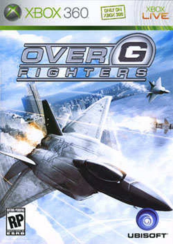 Over G Fighters Video Game Back Title by WonderClub