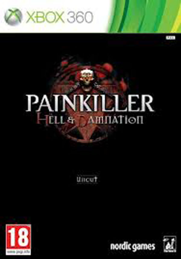 Painkiller: Hell & Damnation Video Game Back Title by WonderClub
