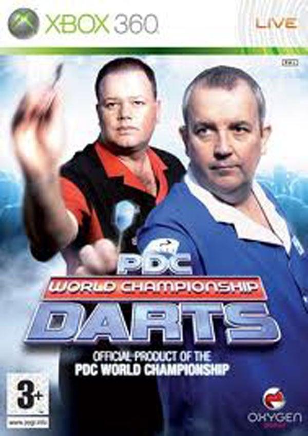PDC World Championship Darts 2008 Video Game Back Title by WonderClub