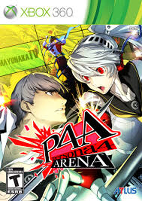 Persona 4 Arena Video Game Back Title by WonderClub